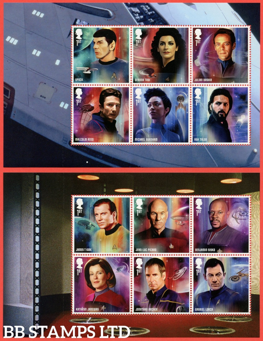 2020 Star Trek-Pane 1&2 (2nd Issue) (13.11.20)