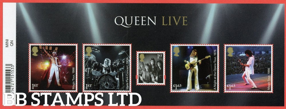 2020 Queen Minisheet 09.07.20 WITH BARCODE