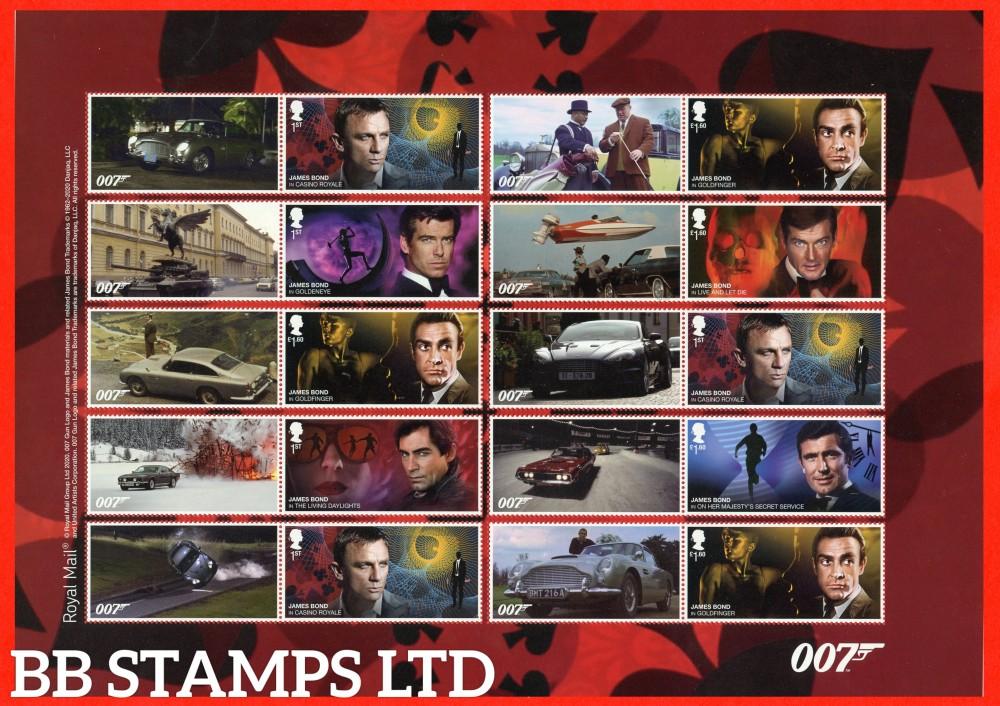 2020 James Bond- Smiler Sheet 17.3.20