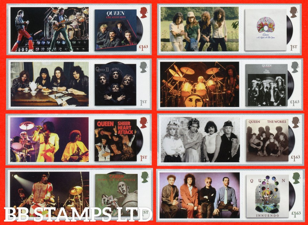 2020 Queen Live 1 x 1st (label may vary to image shown) 09.07.20