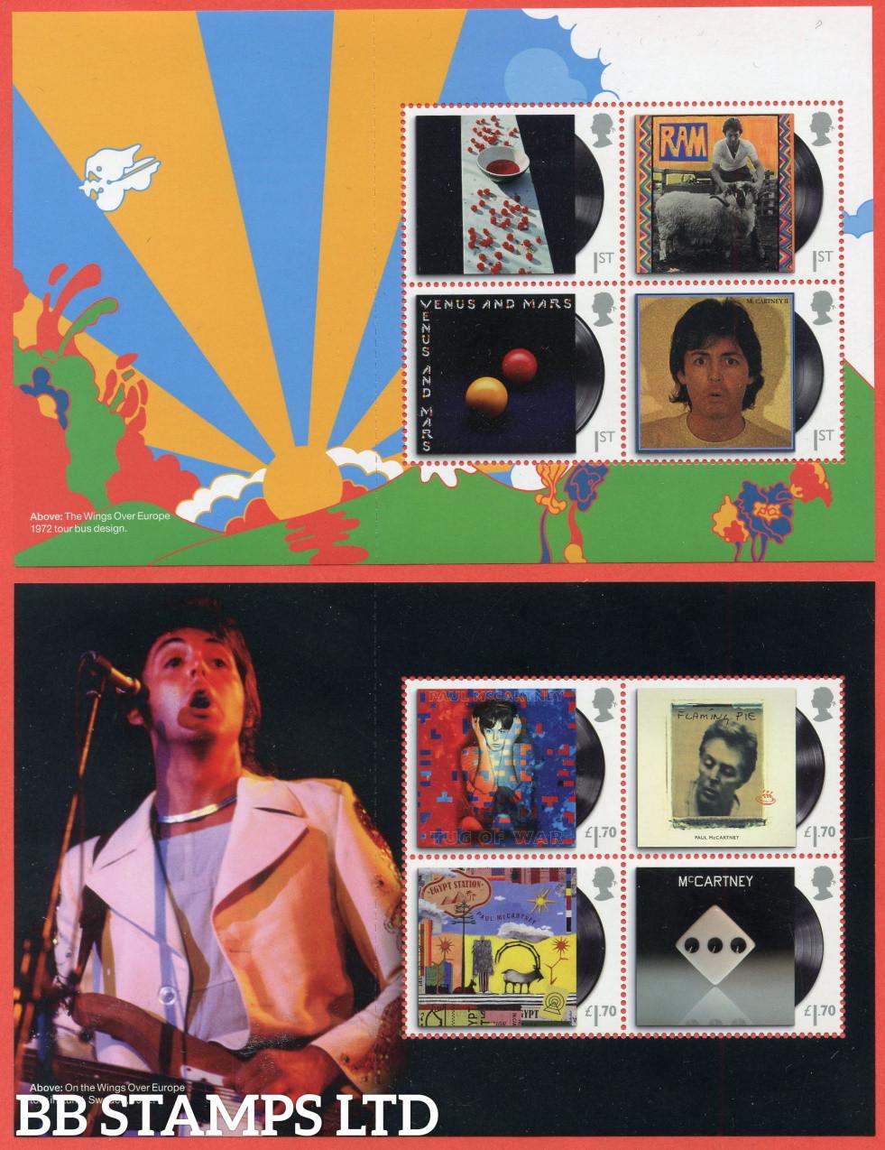 2021 Paul McCartney (Pane 1&2) ( 2nd issue?) (28.05.21)