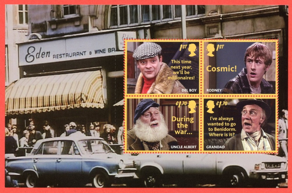 2021 Only Fools and Horses Pane 3 (2nd Issue?)