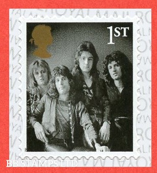 2021 1 x 1st class Queen stamp S/A (from booklet MB22?) 29.03.21