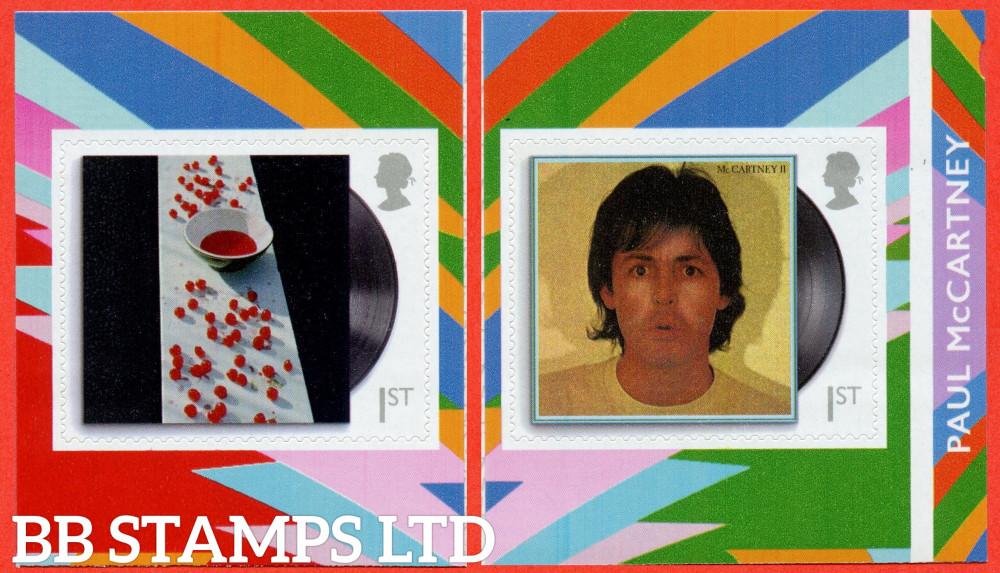 2021 Paul McCartney 2 x 1st S/A McCartney and McCartney II (28.05.21 from PM79)
