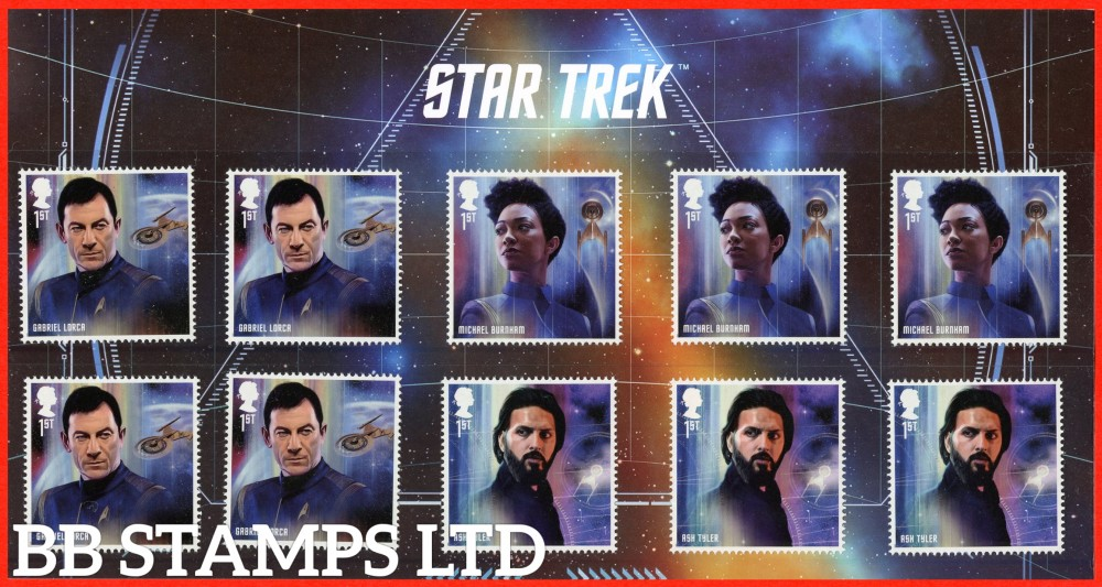 2020 Star Trek Discovery Character pack