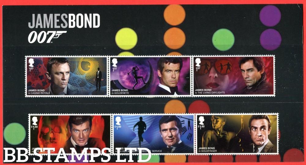 Bond 2020 James Bond- 6 x Bonds