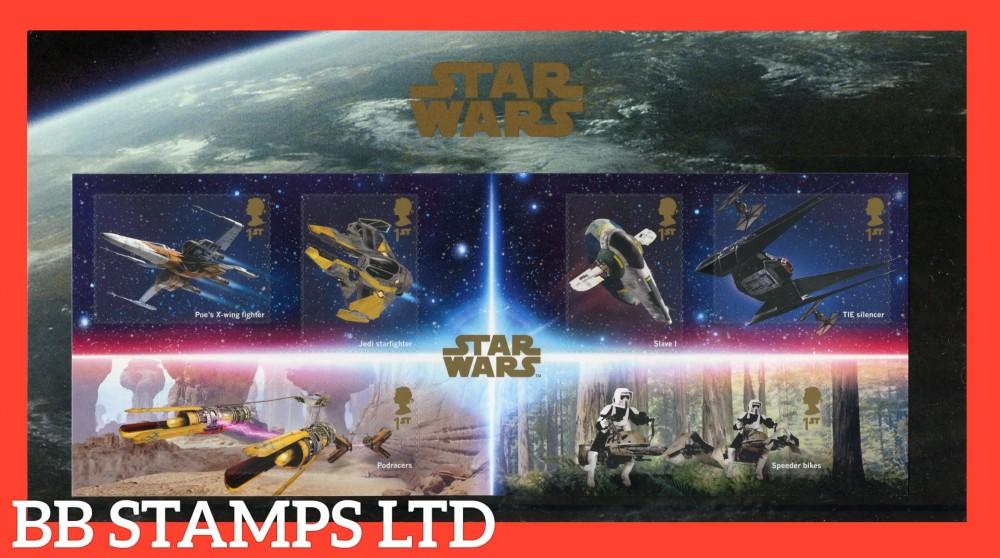 2019 Star Wars Minisheet Pack. 26.11.19