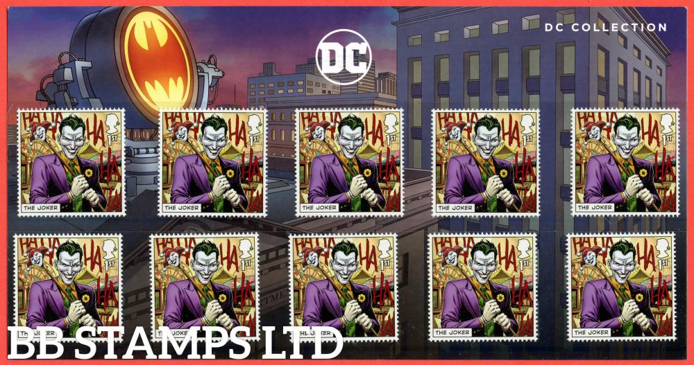 2021 DC Collection-Joker Character Pack (10x1st) (17.09.21) (under UV light illustrations appear)