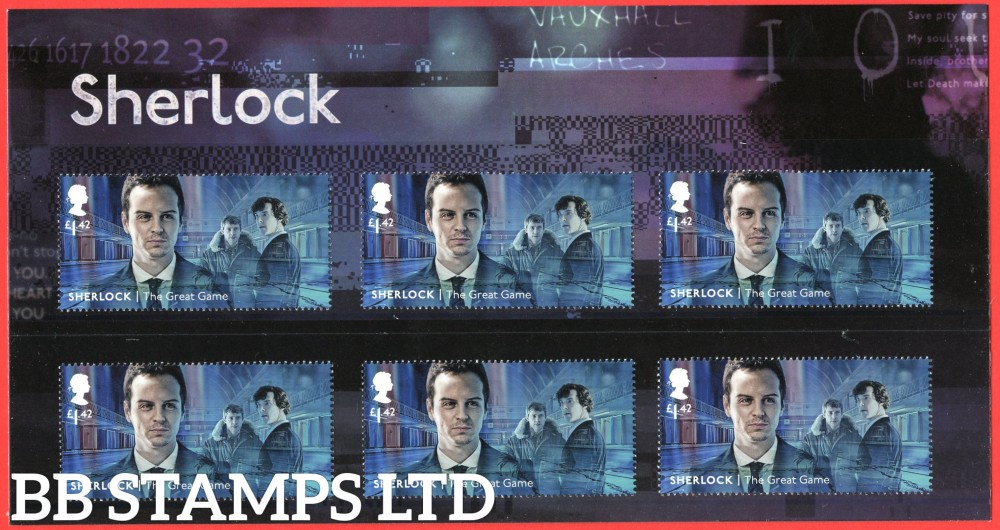 2020 Sherlock The Great Game Character Pack 6 x £1.42 (18.08.20)