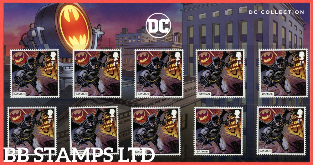 2021 DC Collection- Batman Character Pack (10x1st) (17.09.21) (under UV light illustrations appear)