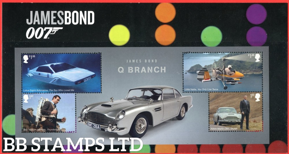 2020 James Bond-Character Pack -Q Branch