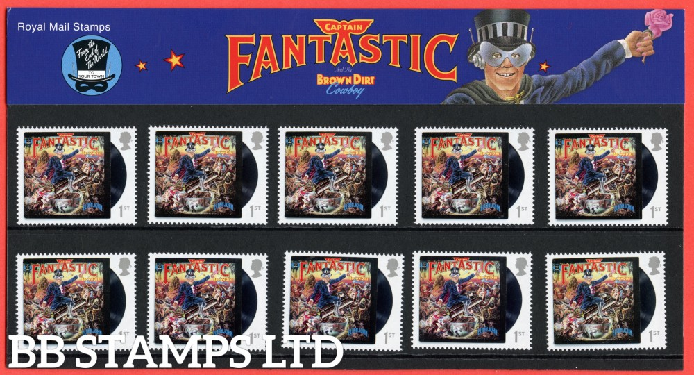2019 Elton John: Captain Fantastic Presentation Pack