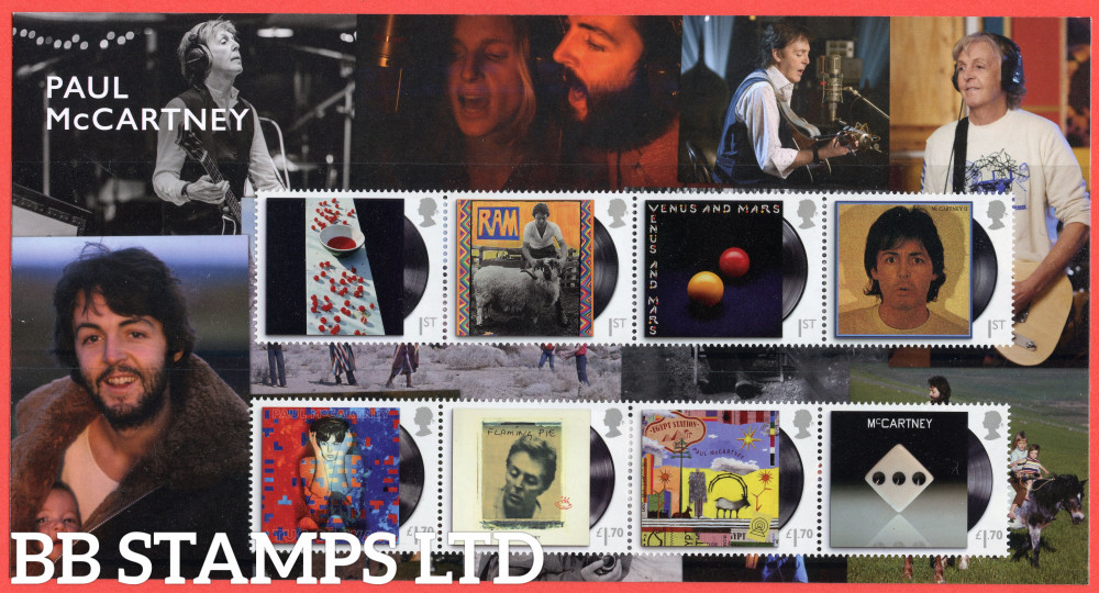 2021 Paul McCartney Character Pack Albums  (28.05.21)