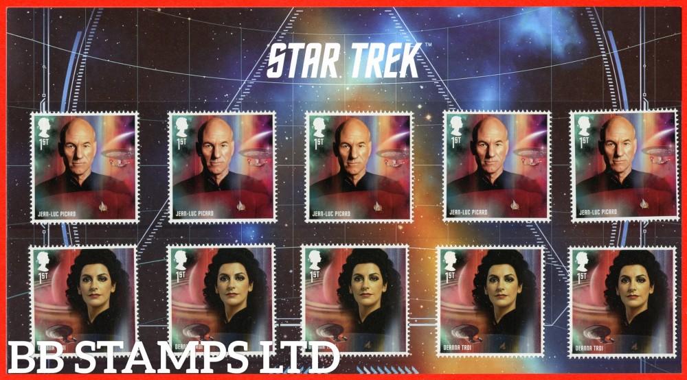 2020 Star Trek Next Generation Character pack