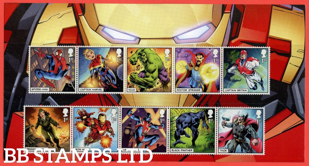 2019 Marvel 10 x 1st Class Character Pack