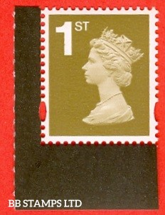 1st Gold PIP Walsall (2 band) Gummed Ex DY21