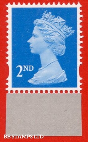 2nd Class Bright blue gravure (Centre band) ISP-Walsall - Ex DY21