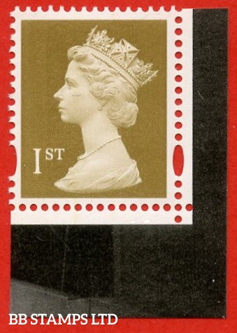 1st Class Gold (2 bands) Enschede (from DX36 Brunel) blue phosphor