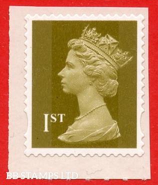 1st Class Gold (Walsall Sheet stamp)