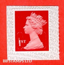 1st Class Bright Scarlet MCIL 'M17L' Walsall NEW Reversed Backing (1 Stamp Only)