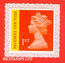 Royal Mail Signed For 1st Class 'M17L' with RM Revised Backing