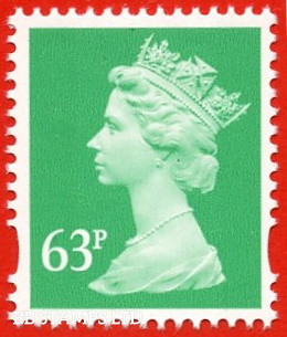 63p Light Emerald (2 Bands) (Blue phosphor) (our choice of source and printer)