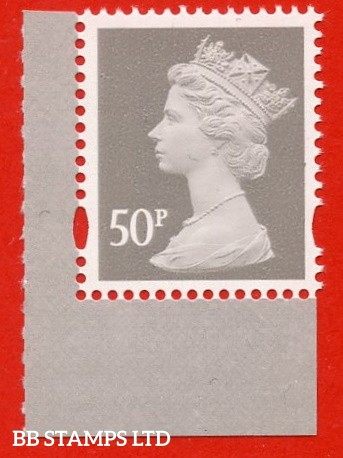 50p Grey gravure (2 bands) ISP-Walsall - Ex DY21