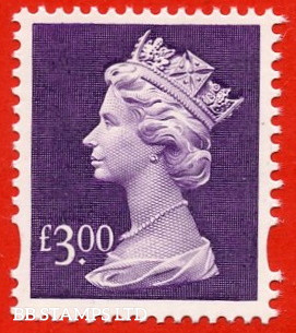 £3 Dull Violet (our choice of printer)