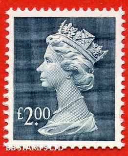 £2 Dull Blue (our choice of printer)