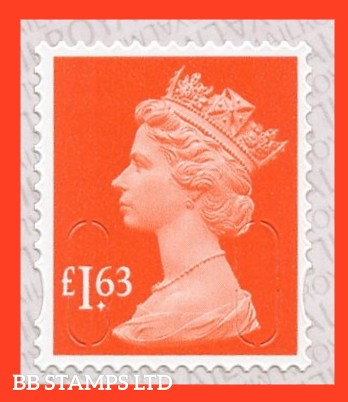 £1.63 M20L MAIL -Walsall Alt 2 Lines IVP-'Sunset Red'