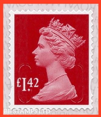 £1.42 M20L MAIL -Walsall Alt 2 Lines IVP-'Garnet Red'