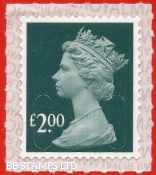 "£2.00 Slate Blue Walsall ""M19L"""