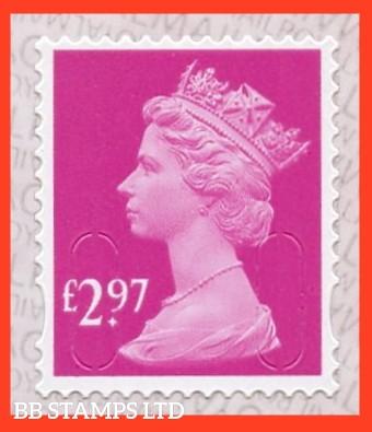 £2.97 M20L MAIL -Walsall Alt 2 Lines IVP- 'Rose Pink'