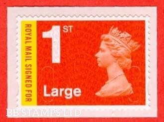 1st Large Royal Mail Signed For DLR 'M17L'