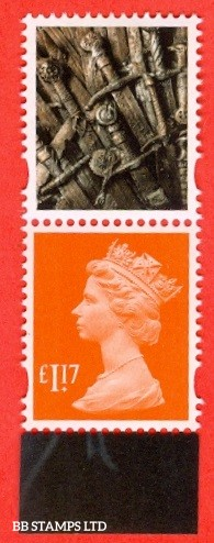 £1.17 Sunrise Red MPIL M17L Ex DY24 Game of Thrones: Walsall (ISP) Litho