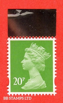 20p Green MPIL M17L Ex DY24 Game of Thrones: Walsall (ISP) Litho