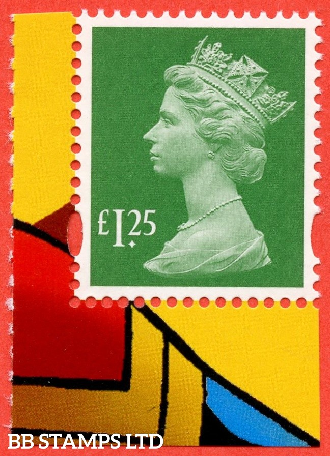 "£1.25 Emerald Litho ISP (Cartor) 'M18L' M-IL "" Missing P "" From Marvel Iconic Superheroes DY29 14.3.19"