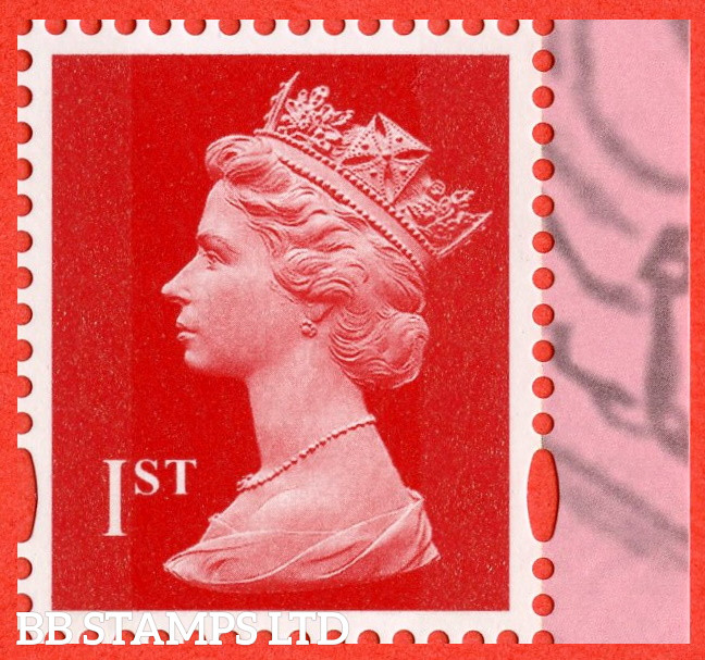 1st Bright Scarlet Litho ISP Cartor 'M21L' MPIL (DC Collection) DY40 17.09.21