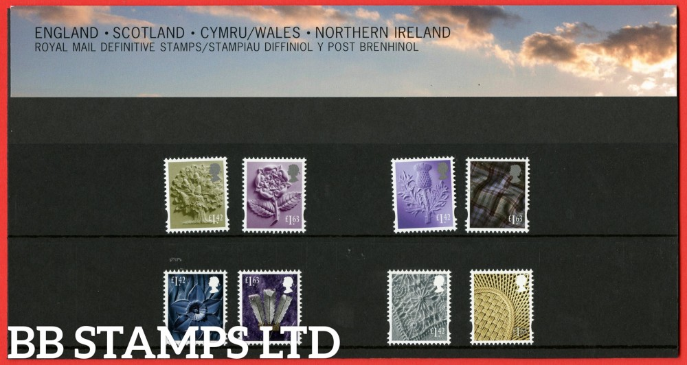 2020 £1.42 - £1.63 4 Regions Definitive (113) Pack