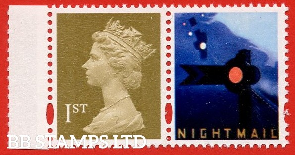 1st Class Gold (2 bands) DLR (from DX32 Letters by Night)