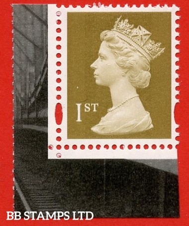 1st Class Gold (2 Bands). Printed by Enschede (from DX36 Brunel)