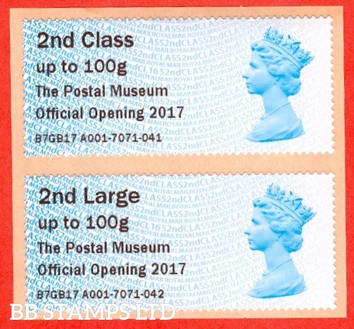2nd & 2nd Large The Postal Museum Official Opening 2017: Type IIIA
