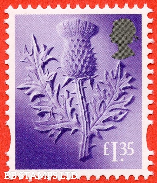 £1.35 Bright Lilac Thistle: Litho Cartor (2019) (AVAILABLE From: 19/03/2019)