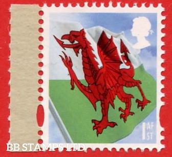 1st Wales Flag (2 Phosphor Bands) Cartor (DY18)