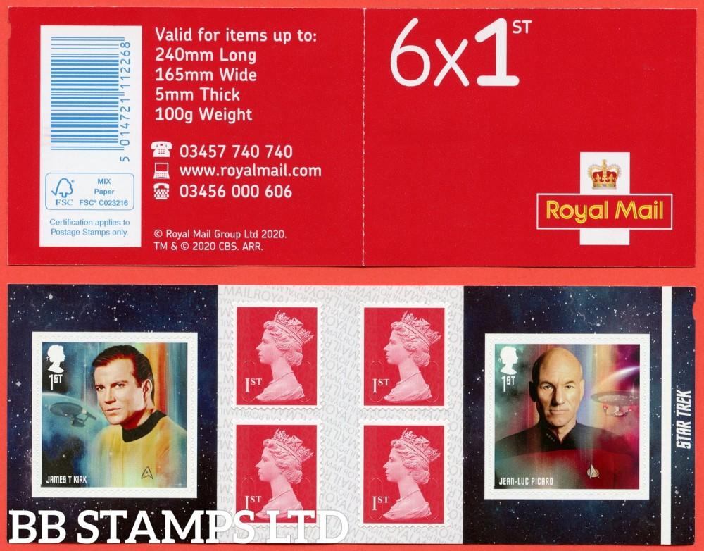 2020 Star Trek 6 x 1st class Plus 4 Machin (M20L-MCIL) 13.11..20