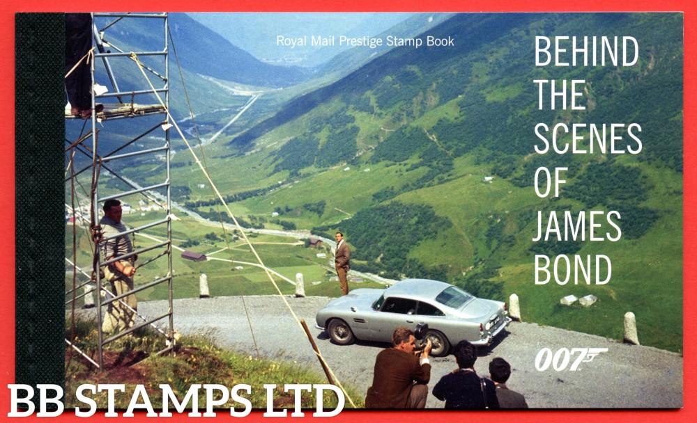 2020 James Bond- Behind the Scenes-Prestige Booklet 17.3.20