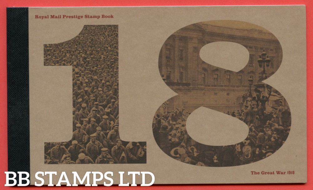 2018 The Great War Prestige Booklet