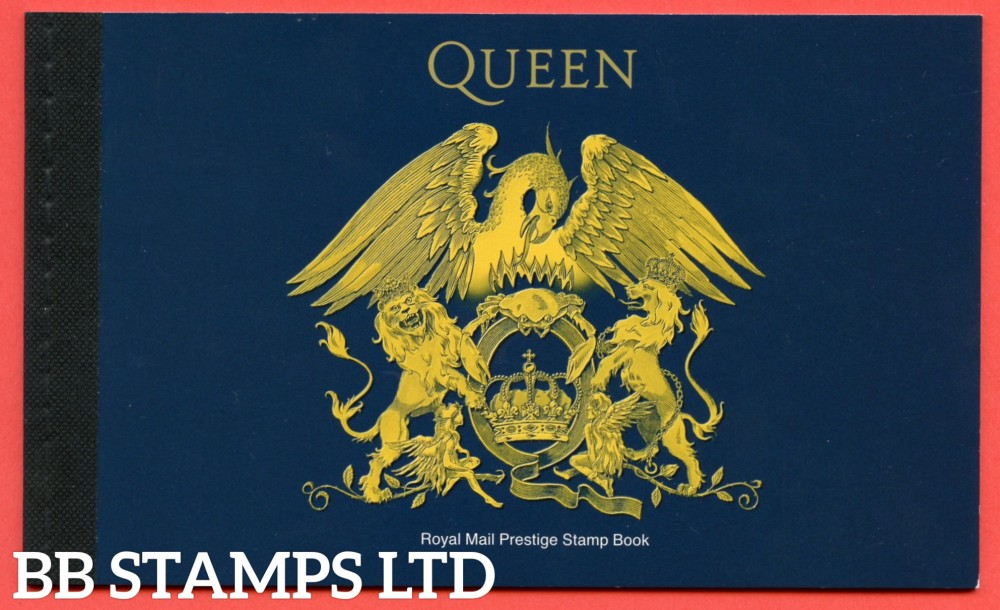 2020 Queen Prestige Booklet (this item cannot be dispatched until the issue date of 9.07.20)
