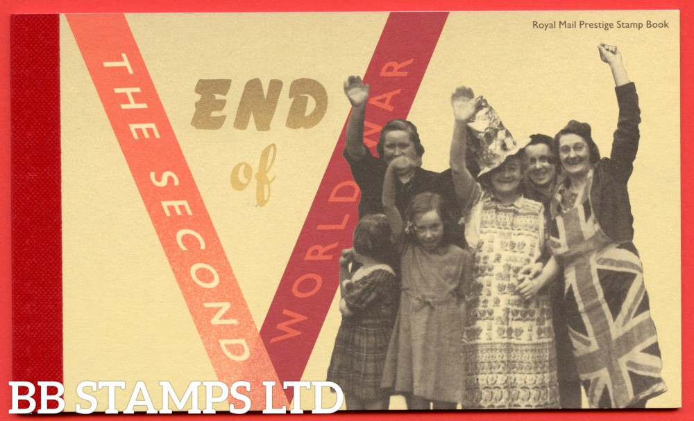 2020 End of the Second World War- Prestige Booklet (this item cannot be dispatched until the issue date of 8.5.20)