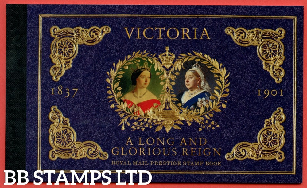 2019 Queen Victoria Bicentenary Prestige Booklet (AVAILABLE FROM: 24/05/19) (Images will be uploaded & orders dispatched on or after day of issue)